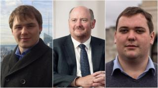 Edward Cousins, Richard Cousins and William Cousins
