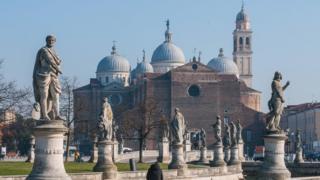 Iglesia de San Antonio, en Padua.