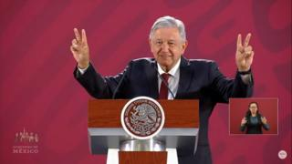 """Amor y paz con Trump"", responde AMLO a las advertencias de Donald Trump."