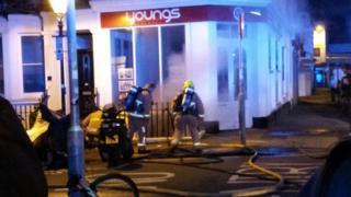 Brighton basement flat fire