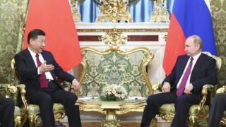 中國領導人習近平6年來第8次訪問俄羅斯。