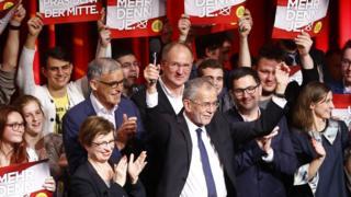 Avusturya'nın yeni cumhurbaşkanı seçilen Alexander Van der Bellen
