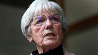 Marie McCourt after Parole Board hearing