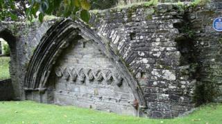 Развалины Тавистокского аббатства