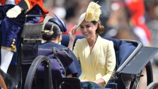 Кейт на параді на честь дня народження королеви
