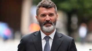 "Roy Keane arrives at Manchester Magistrates"" Court"