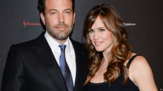 Ben Affleck and Jennifer Garner attend an event in New York - 19 November 2015