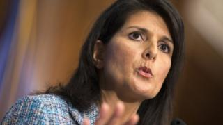 South Carolina Governor Nikki Haley.