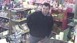 CCTV image of man in former Chain Lane Post Office