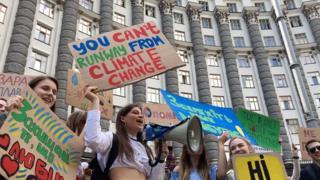 Шкільний страйк за клімат в Україні