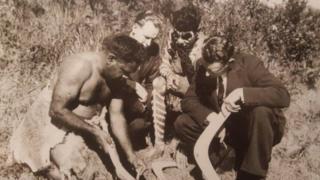 原住民传授冷燃烧技术