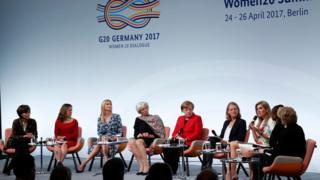 在德國柏林舉行的20國集團女性對話會