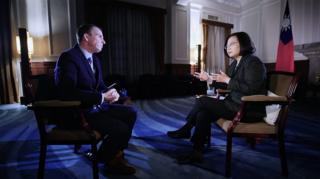 台灣總統蔡英文接受BBC記者沙磊(John Sudworth)專訪完整版