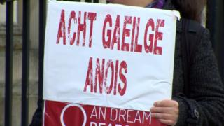 The verdict came in a challenge mounted by the Irish language group Conradh na Gaeilge