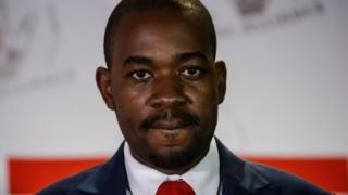 NMDC Alliance leader Nelson Chamisa