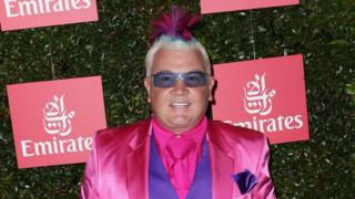 Darryn Lyons at the Melbourne Cup