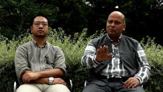 राज्यमन्त्री सुरेन्द्रकुमार यादव र डाक्टर शेरबहादुर पुन