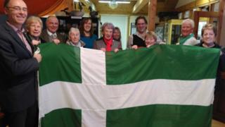 Barra's flag