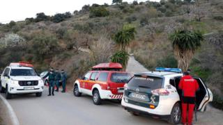 Rescuers at scene, 14 Jan 19