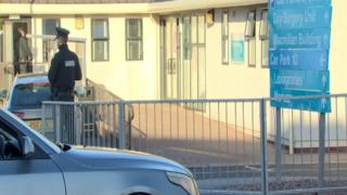 The incident occurred at an out-of-hours surgery on the Craigavon area hospital site