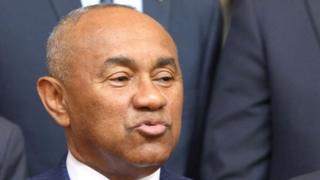 تولى الملغاشي أحمد أحمد رئاسة الكاف منذ مارس/آذار 2017