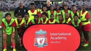 Une photo prise lors de la cérémonie d'ouverture de l'académie de Liverpool.