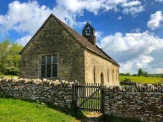 St Olwald Church in Widford near Swinbrook