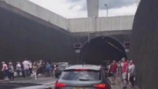 Dartford Tunnel fire