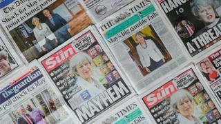 британські газети