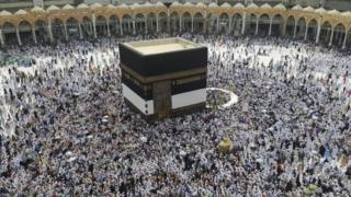 Urugendo rwa Hajj i Mecca muri Arabia Saudite