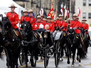 Принц Уэльский Чарльз на праздновании 150-летия Канады в Оттаве, 1 июля 2017 года