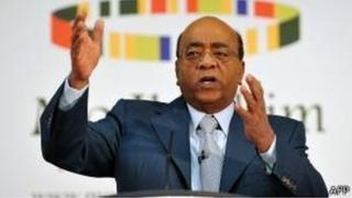 Mo Ibrahim, 70 ans, est un philanthrope, milliardaire anglo-soudanais qui a bâti sa fortune (plus de 2 milliards de dollars) sur la téléphonie mobile.
