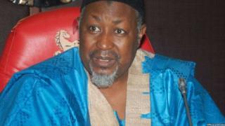 Gwamnan jihar Jigawa Alhaji Mohammed Badaru Abubakar