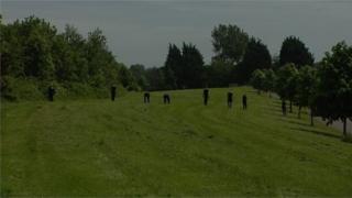 Gardaí search field