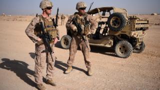 جنديان أمريكيان في أفغانستان
