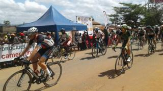 Riders for 15 edition for Cameroon tour