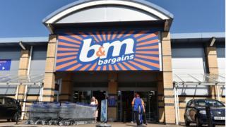 B&M store