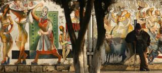 armenia mural