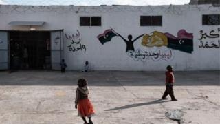 Libya çocuk göçmenler