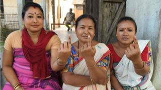 Voters in Assam