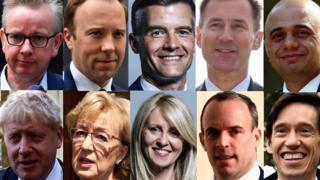 Leadership contenders