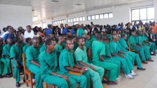 Burundi, prisonniers