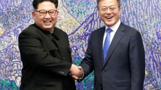उत्तर कोरिया दक्षिण कोरिया