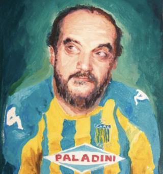 Retrato en óleo de Fontanarrosa