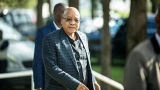 Prezida Jacob Zuma