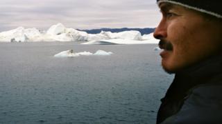 Житель Гренландии