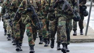 Très peu de femmes ont rejoint l'armée libérienne