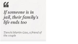 Quote: If someone is in jail, their family's life ends too