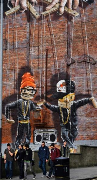 Mural on John Street