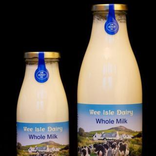 Wee Isle Dairy whole milk